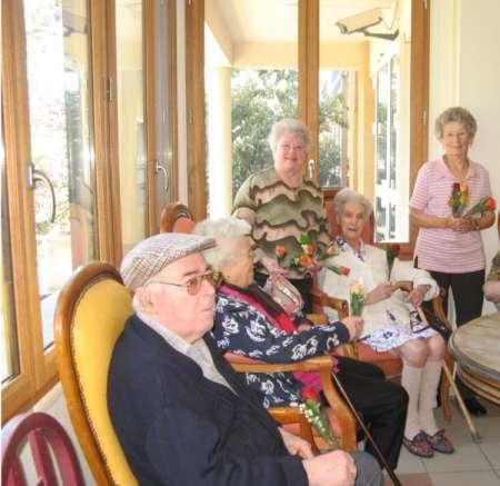 Une architecture adaptée aux malades Alzheimer en maison de retraite - Source de l'image:http://www.savineslelac.com