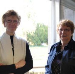 Maryse Jaggly et Madeleine Pernal ont fondé l'association en 2009 - Source de l'image : http://www.lavoixdunord.fr