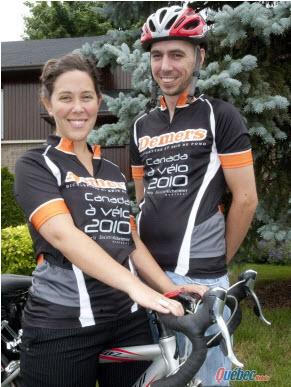 Alzheimer : Deux jeunes canadiens récoltent des dons… à vélo - Source de l'image: http://www.quebechebdo.com